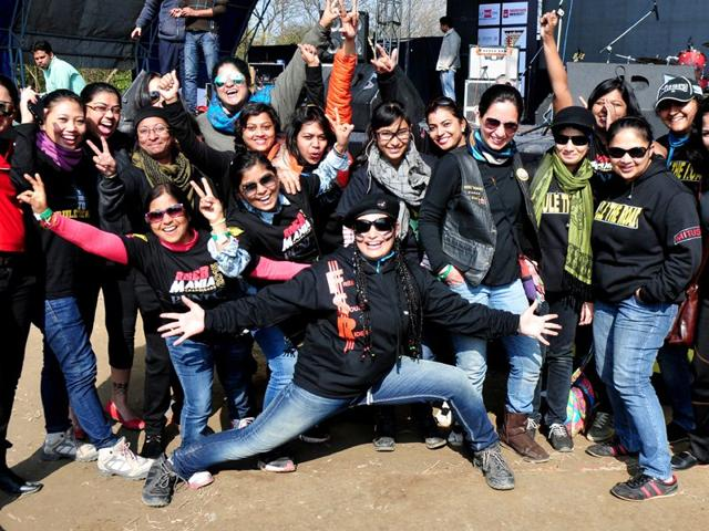 Riding,women bikers,Nambia High Commission