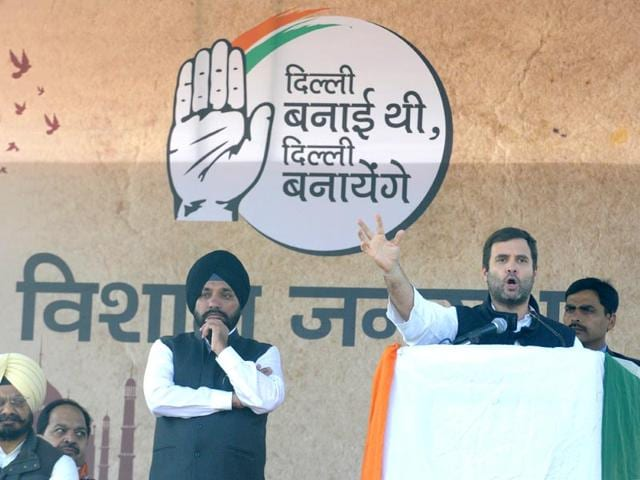 Congress-Vice-President-Rahul-Gandhi-addressing-an-election-rally-for-upcoming-Delhi-assembly-elections-at-Shashtri-Park-Sonu-Mehta-HT-Photo