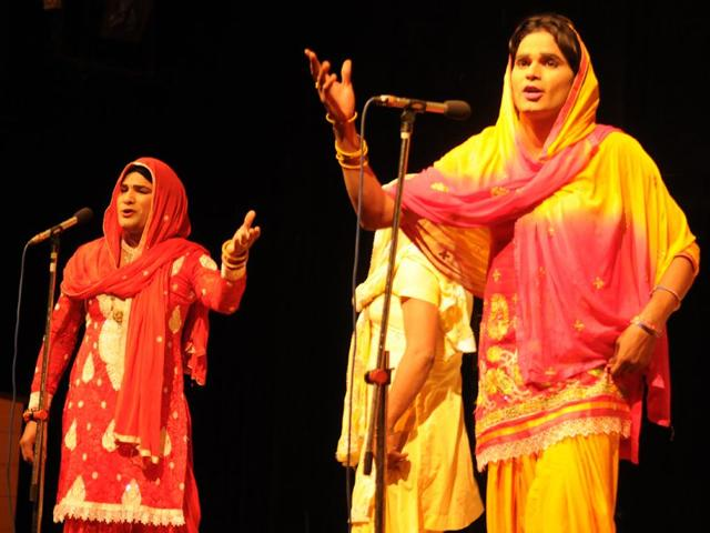 An-all-male-Saang-performance-Saang-is-a-traditional-theatre-form-of-Haryana-dating-back-to-the-16th-century