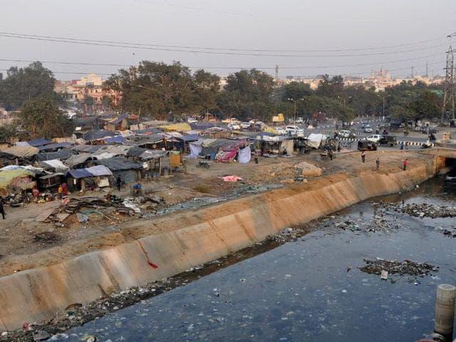 Ludhiana,Jamuna Colony,slum area