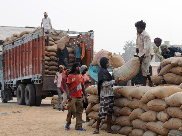 minimum support price,Punjab government,grain