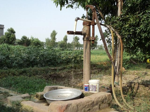 Faridkot,water,village