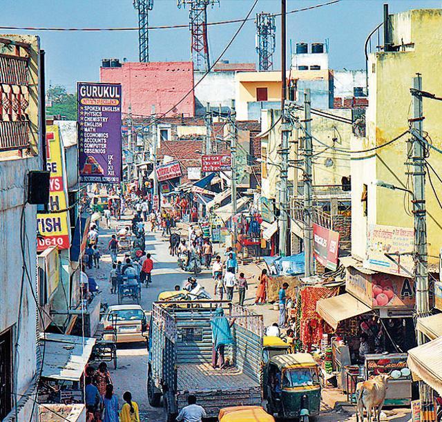 Delhi,AAP,Satellite images