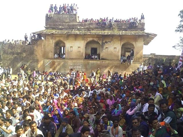 Rohtasgarh-fort-located-about-200-km-west-of-Patna-is-a-pilgrimage-centre-for-tribals-HT-Photo