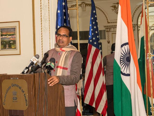Chief-minister-Shivraj-Singh-Chouhan-on-his-Twitter-page-congratulated-the-winning-candidates-in-the-mayoral-elections-on-Wednesday-HT-photo