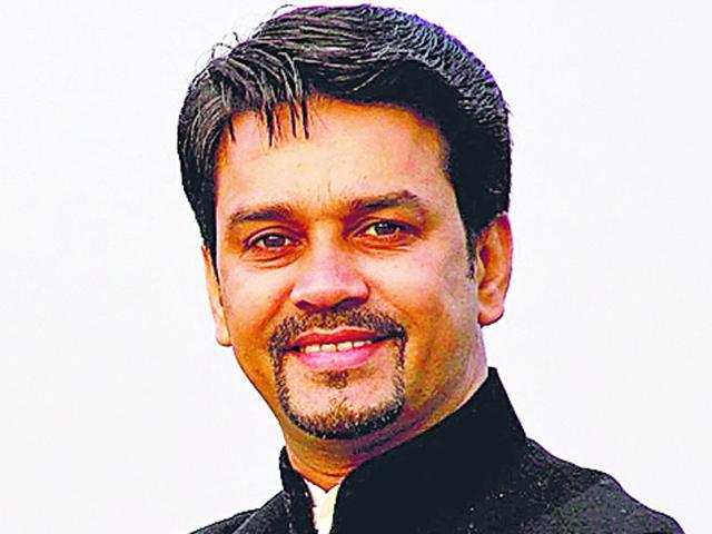 Anurag Thakur's rise in cricketing world has been slow but steady