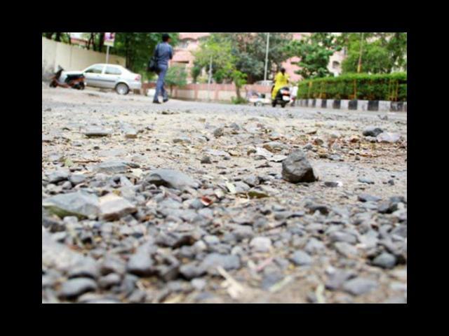 dilapidated roads