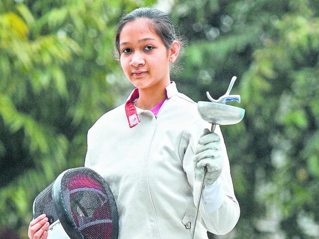 14-year-old-fencer-Kashish-Sharma-HT-photo