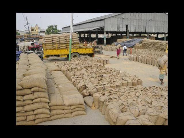 Chandigarh,procurement of grains,Haryana