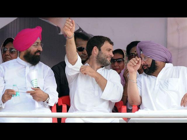 Rahul Gandhi,Partap Singh Bajwa,SAD-BJP