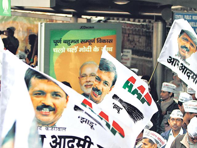 AAP-or-BJP-Voters-in-Delhi-will-make-their-choice-on-February-7-Arun-Sharma-HT-Photo