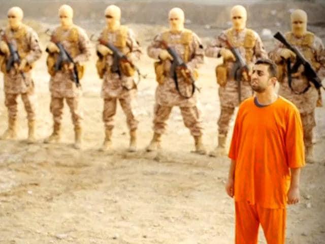 Jordanian pilot,jordanian burned alive,IS execution