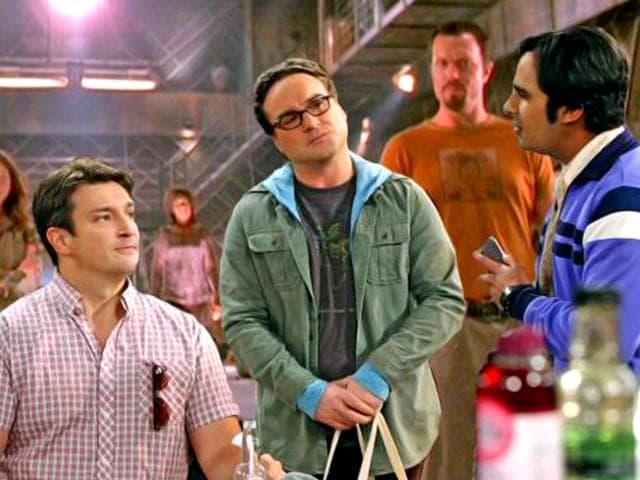 Castle star Nathan Fillion,The Big Bang Theory,Hindustan Times