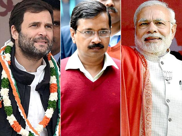 A-combination-photograph-of-Congress-vice-president-Rahul-Gandhi-Prime-Minister-Narendra-Modi-and-AAP-chief-Arvind-Kejriwal