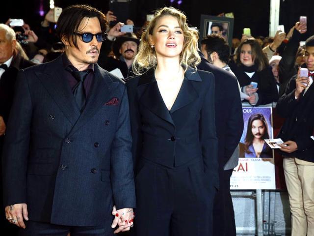 Johnny Depp,Amber Heard
