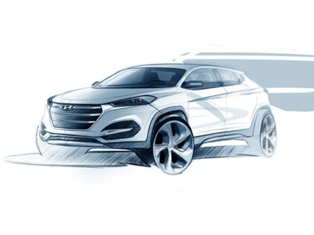 new Hyundai Tuscon