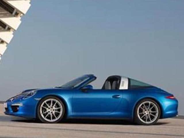 Porsche-launches-911-Targa-4-in-India