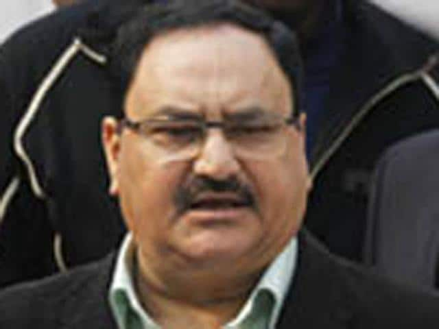 JP Nadda,health minister,spitting in public