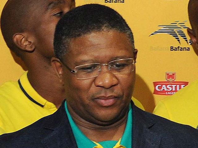 South-African-sports-minister-Fikile-Mbalula-at-an-event-in-Johannesburg-AFP-Photo