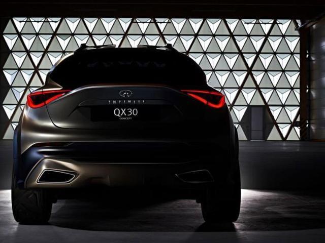 Infiniti QX30,BMW