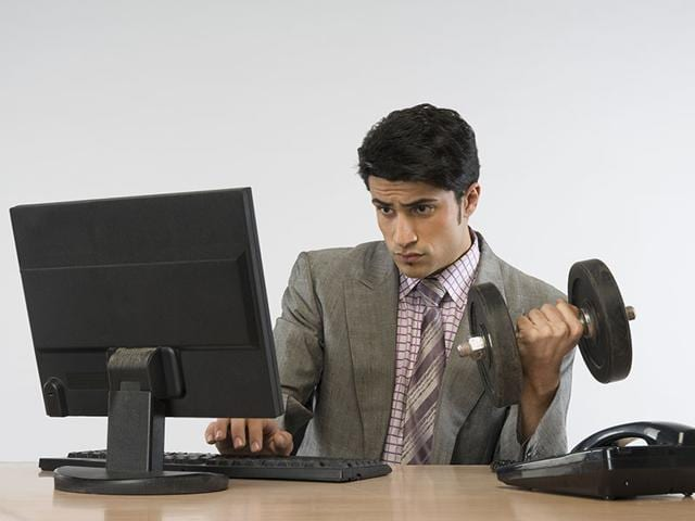 Exercising-at-work-is-a-good-way-to-stay-healthy-Photo-Shutterstock