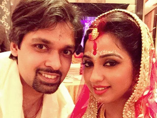 Shreya Ghoshal,wedding,Shiladitya