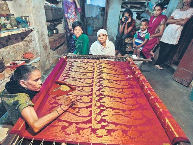 Handloom-production-is-environment-friendly-and-a-source-of-employment-generation-for-unskilled-rural-workers-especially-women-who-are-traditionally-employed-in-hand-spinning-We-just-cannot-be-blind-to-the-immense-potential-of-one-of-the-country-s-richest-resources-HT-photo