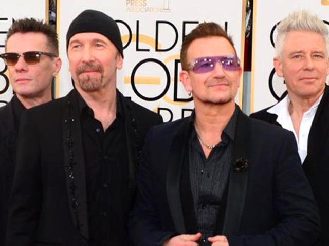 Old-favourites-U2-has-been-nominated-in-the-Best-Rock-Album-category--for-their-Songs-of-Innocence-The-band-will-be-competing-against-Ryan-Adams-and-many-more-AFP