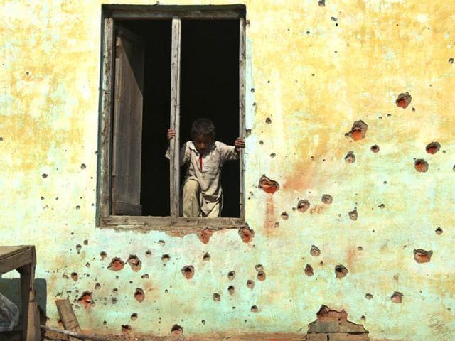 Pakistan firing,International Border,BSF