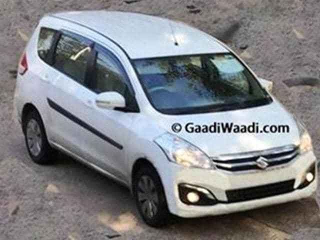 Maruti-to-launch-Ertiga-facelift-this-year