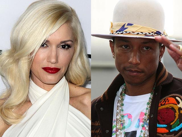 Singers-Pharrell-Williams-right-and-Gwen-Stefani-Shutterstock