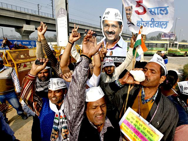 AAP-goes-for-a-landslide-victory-in-Delhi-polls-Agency-Photo