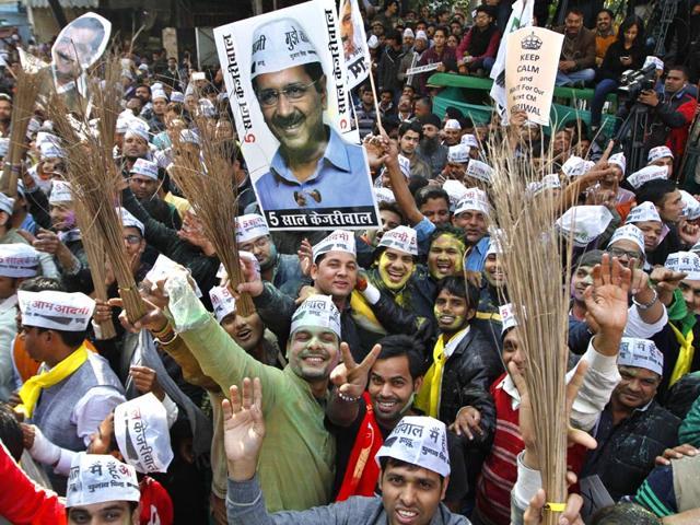 Delhi vote counting