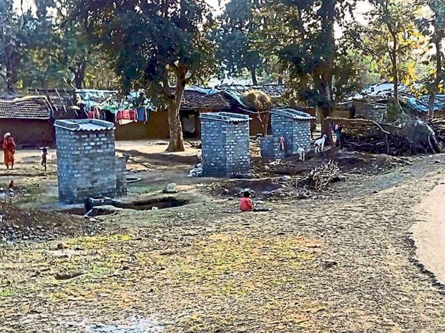 Toilets-constructed-at-Baigram-in-Mhow-block-HT-photo