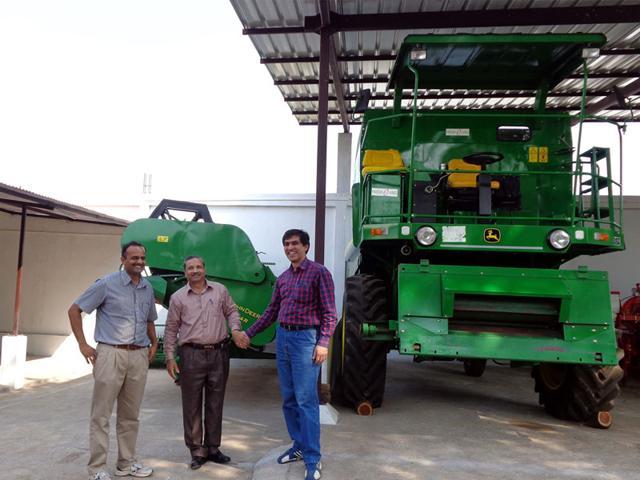 Samar-Singh-left-along-with-his-friends-at-his-hi-tech-agricultural-equipment-centre-Arun-Mondhe-HT-photo