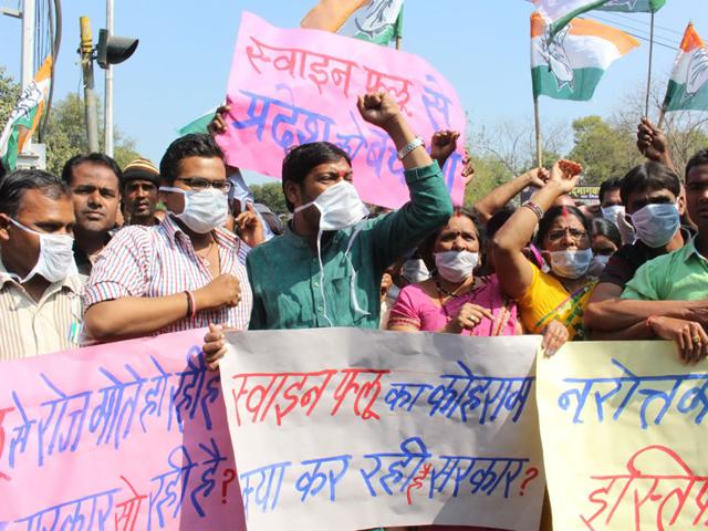 swine flu,Bhopal,Indore
