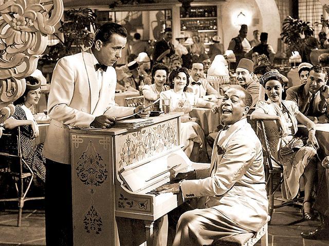 Casablanca,Humphrey Bogart,Ingrid Bergman