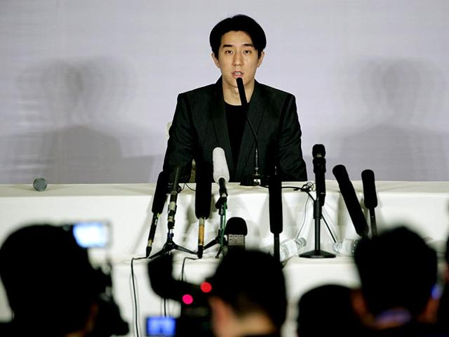 Jaycee-Chan-at-a-press-conference-after-releasing-from-prison-AP