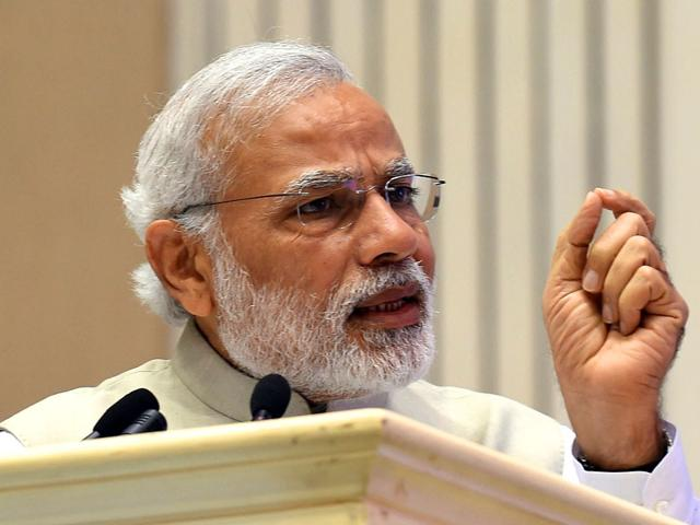 Prime-Minister-Narendra-Modi-gestures-as-he-speaks-during-the-opening-of-the-first-Renewable-Energy-Global-Investors-conference-in-New-Delhi-AFP-photo
