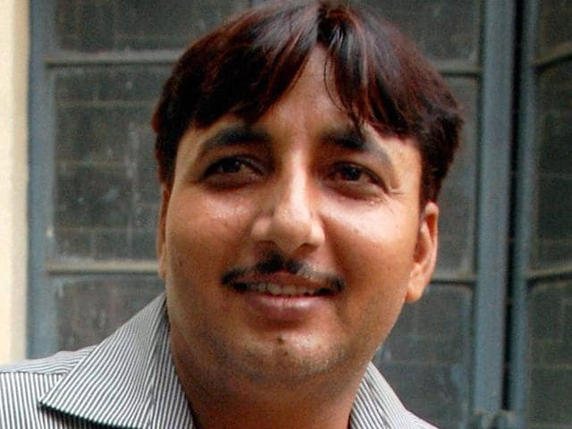 File-photo-of-Vicky-Tyagia-who-was-shot-dead-in-a-court-premises-in-Muzaffarnagar-on-Monday-PTI-Photo