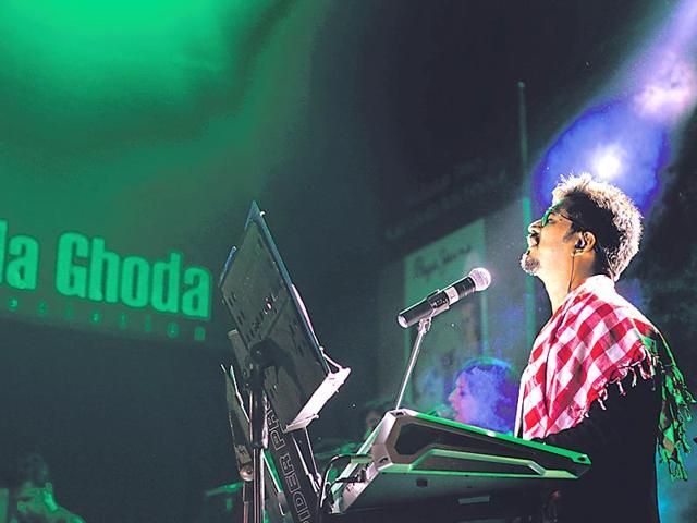 Amit Trivedi,Amit Trivedi's concert,Hindustan Times Kala Ghoda Arts Festival