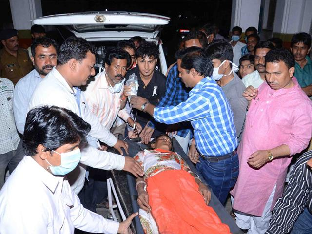 A-patient-being-brought-to-district-hospital-in-Ujjain-Sunil-Magariya-HT-photo