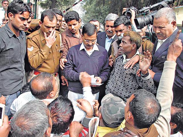 Kejriwal govt