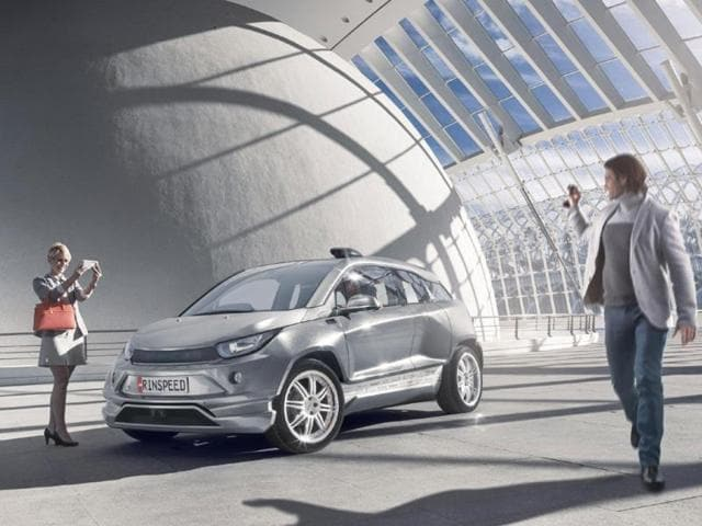 Budii,Geneva Motor show,BMW i3