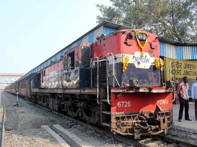 Indore-Dahod railway line