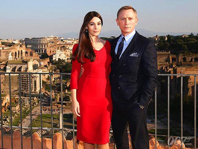 James Bond,Monica Bellucci,Rome