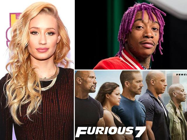Rappers-Wiz-Khalifa-and-Iggy-Azalea-have-teamed-up-for-seventh-instalment-of-action-franchise-Fast-amp-Furious