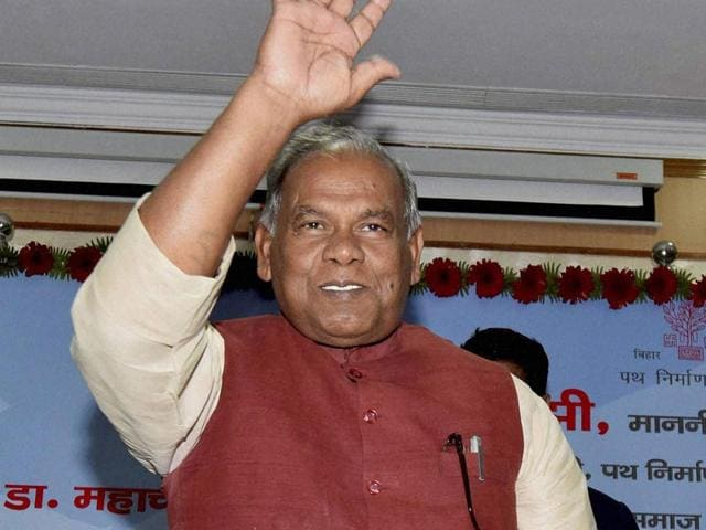Bihar-chief-minister-Jitan-Ram-Manjhi-resigned-ahead-of-a-crucial-trust-vote-in-the-assembly-PTI-File-Photo