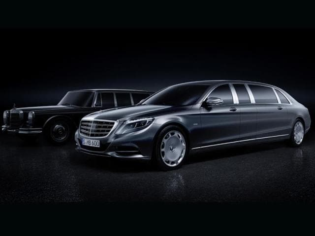 new Mercedes-Maybach Pullman