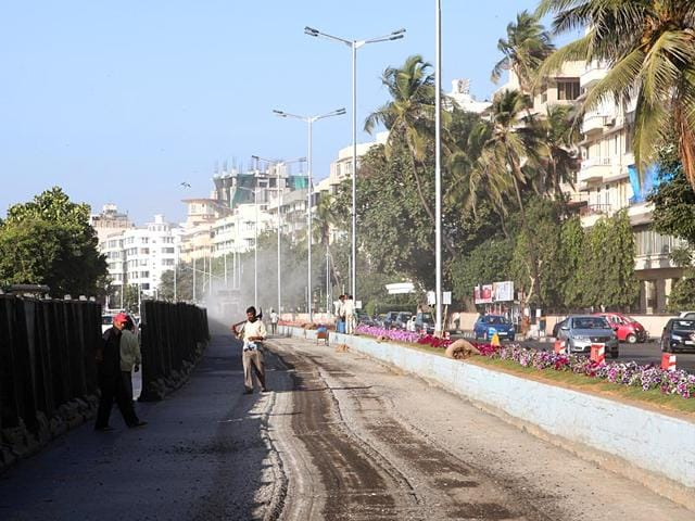 LED lamps,Marine Drive,BEST committee